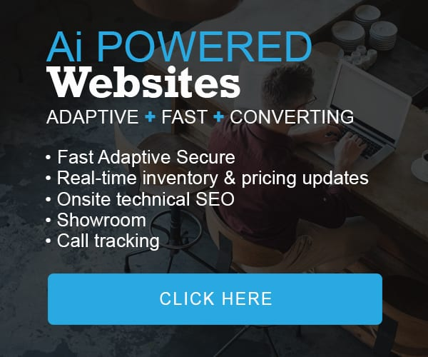 Ai powered websites